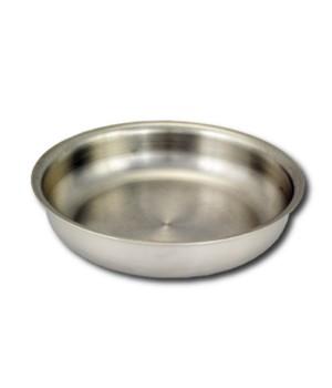 Тарелка нержавеющая глубокая 0,5 л Амет