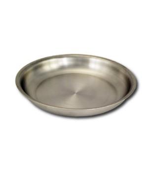 Тарелка нержавеющая мелкая 0,25 л Амет