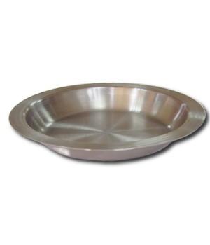 Тарелка нержавеющая мелкая с ушками 0,25 л Амет