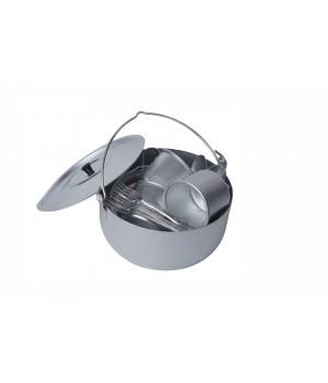 Набор алюминиевой посуды Походный Демидовский завод