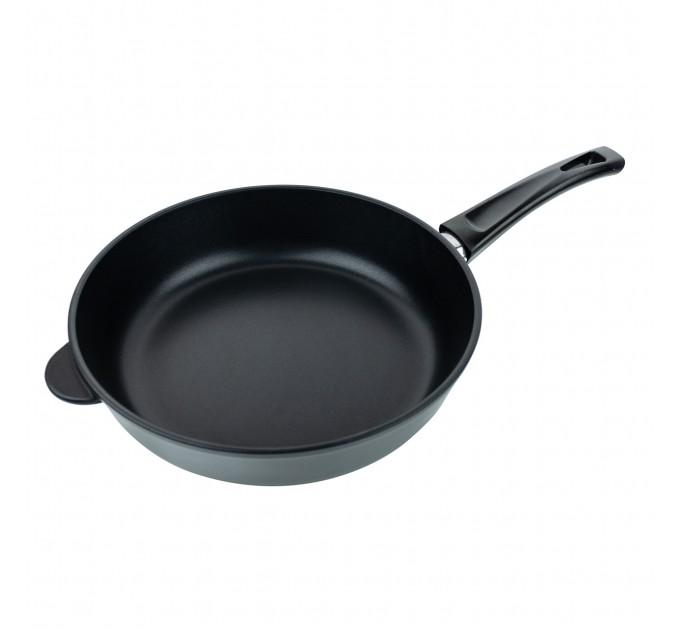 Сковорода литая алюминиевая СОЮЗ ТН, 28 см, ADIMANTIUM, чёрный, ручка несъёмная