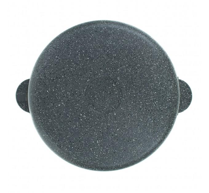 СОЮЗ ТН, Жаровня литая алюминиевая, 26 см, с керамическим покрытием серый гранит