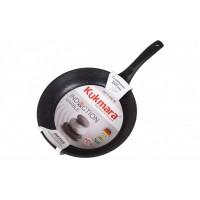 Сковорода 26 см индукционная Темный мрамор Kukmara