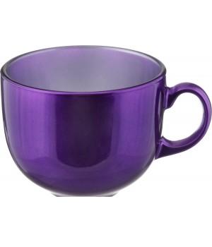 Бульонница Флэши Колорс ударопрочное стекло фиолетовая 500 мл