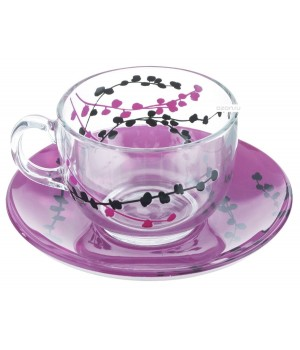 Чайный набор Люминарк Кашима Фуксия
