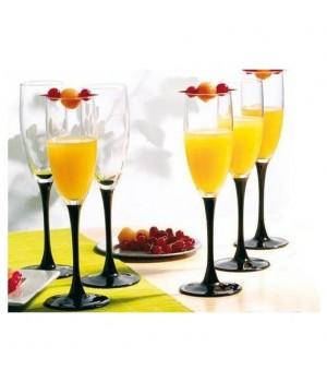Набор фужеров для шампанского Luminarc Домино 170 мл