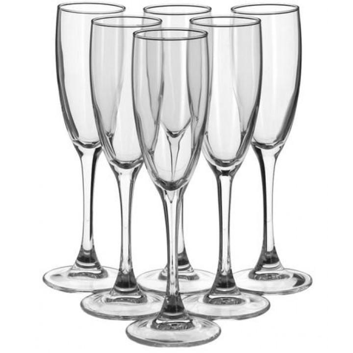 Набор фужеров для шампанского СИГНАТЮР (ЭТАЛОН) 6 шт 170 мл Luminarc