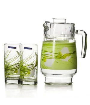 Набор питьевой Luminarc 7 предметов Софиан Грин