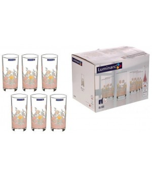 Набор стаканов Luminarc Elise Элиз высокие 270 мл
