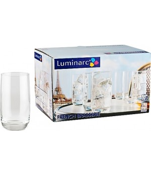Набор стаканов Luminarc Френч Брасери 340 мл