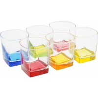 Набор стаканов 6 шт 300 мл низкие Luminarc Стерлинг Брайт Колорс