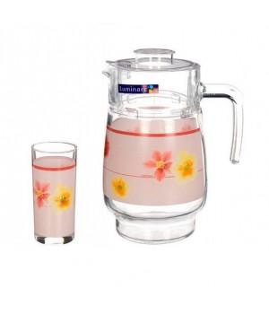 Питьевой набор Luminarc Поэма роз 7 пр