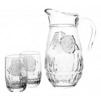 Питьевой набор Luminarc Структурная роза 7 пр