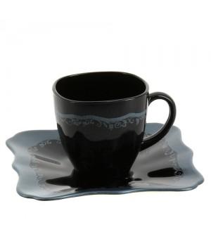 Современные чайные сервизы Отантик Сильвер Блек