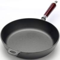 Сковорода чугунная 28 см, глубокая