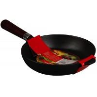 Сковорода чугунная MYRON COOK 20 см глубокая