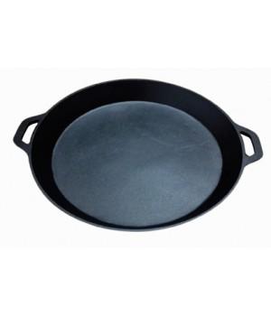 Сковорода-жаровня MYRON COOK чугунная 48,5 см с крышкой