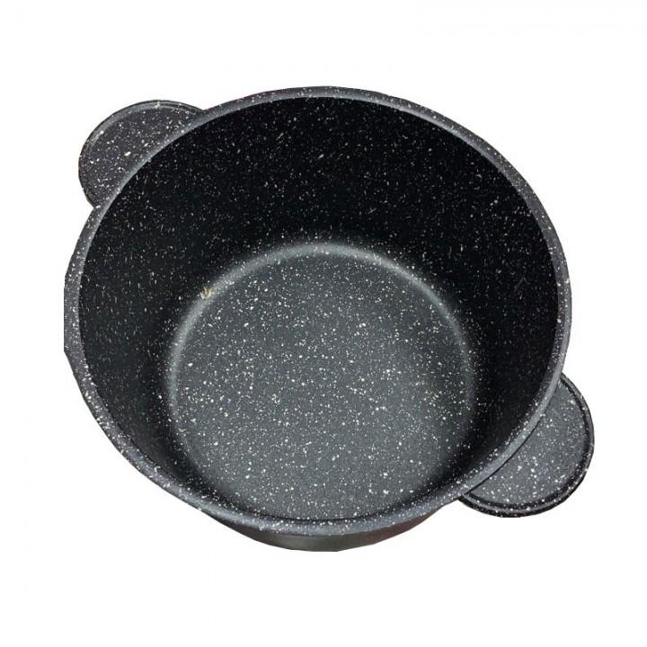 """Кастрюля """"Наша посуда"""" с мраморным покрытием 4 л"""