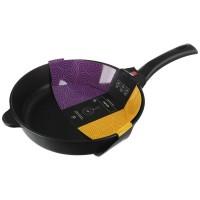 """Сковорода 28 см """"Домашняя"""" (Литая) Нева металл посуда, съемная ручка"""