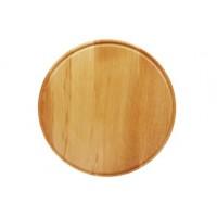 Доска кухонная бук малая круглая 250 мм