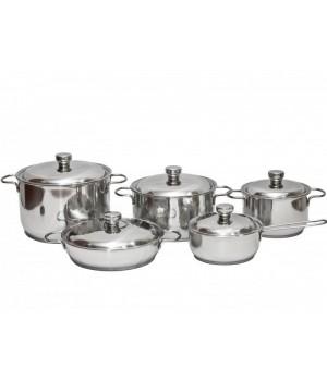 Набор нержавеющей посуды Классика-Прима 5 пр Амет