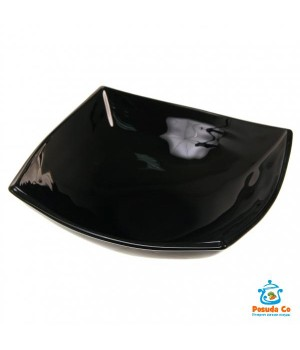 Салатник Квадрато 16 см черный Luminarc
