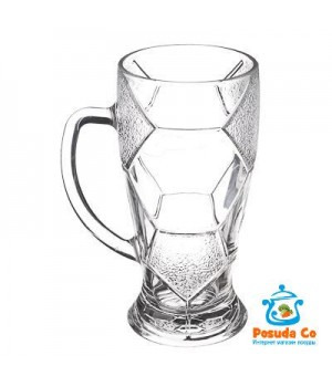 Кружка для пива стеклянная Лига 500 мл
