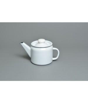 Чайник эмалированный 1,0 л заварочный б\рис