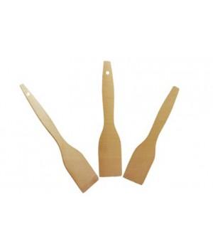 Лопатка деревянная бук малая 250х50х4 мм