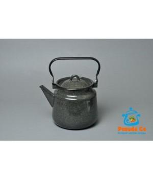 Чайник эмалированный Чёрный рябчик 3,5 л Стальэмаль
