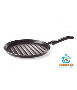Сковорода-гриль с антипригарным покрытием. Диаметр 260 мм.