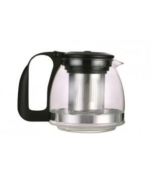 Чайник заварочный с фильтром черный 1,25 л TM Appetite