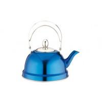 Чайник заварочный нержавейка 0,7 л синий