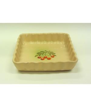 Форма для запекания керамическая 1,5 л Волна Ромашка