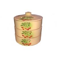 Набор для холодца керамический Подарочный Рябинка