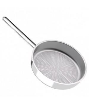Сковорода гриль нержавеющая 24 см Гурман-Классик б/кр