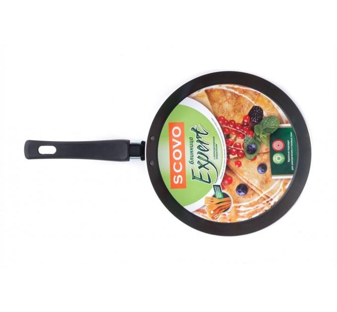 Scovo  Expert Сковорода блинная с антипригарным покрытием 220 мм.