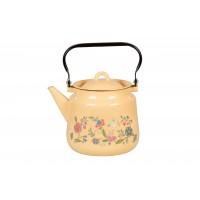 Стальэмаль Чайник эмалированный 3,5 л. Луговые цветы