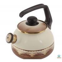 Чайник со свистком Терракот 2,5 л Metrot